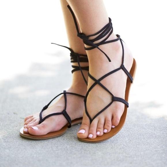 9411ced5f33e4 Steve Madden Lace Up Gladiator Sandals. M_5a652c4f50687ca4e9c8e7ed